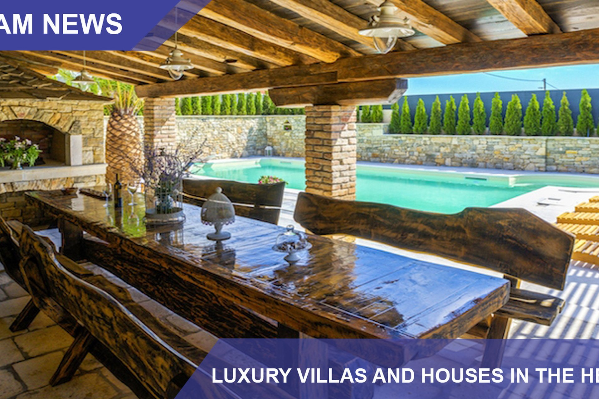 LUXURY VILLAS AND HOUSES IN THE HEART OF NATURE - INVEST IN RURAL TOURISM + LUXURY!