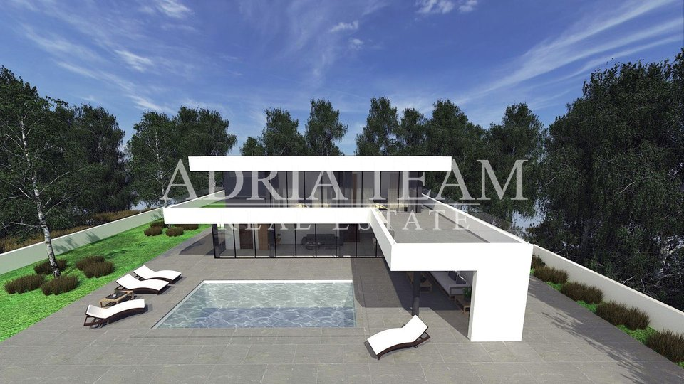 LUXURY VILLA WITH SWIMMING POOL, IN HEART OF NATURE, ZADAR - ZEMUNIK