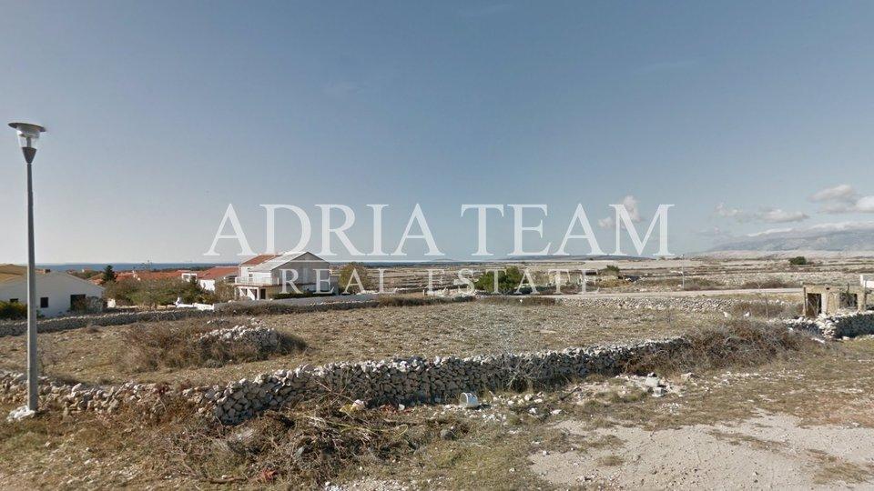 BUILDING LAND, 300 M FROM THE SEA, PAG - POVLJANA