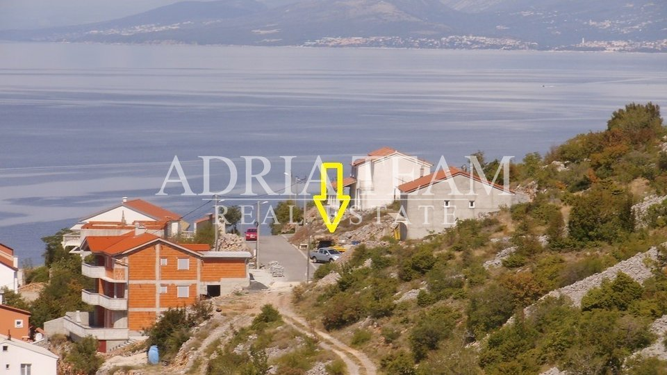 BUILDING LAND WITH SEA VIEW, SENJ