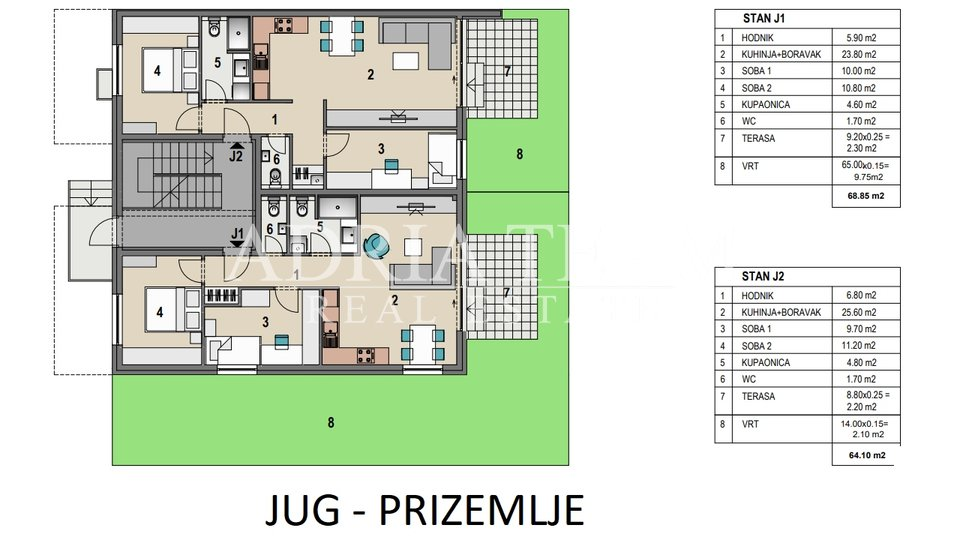 TWO BEDROOM APARTMENT ON THE 2ND FLOOR, NEAR ALL FACILITIES, ZAGREB