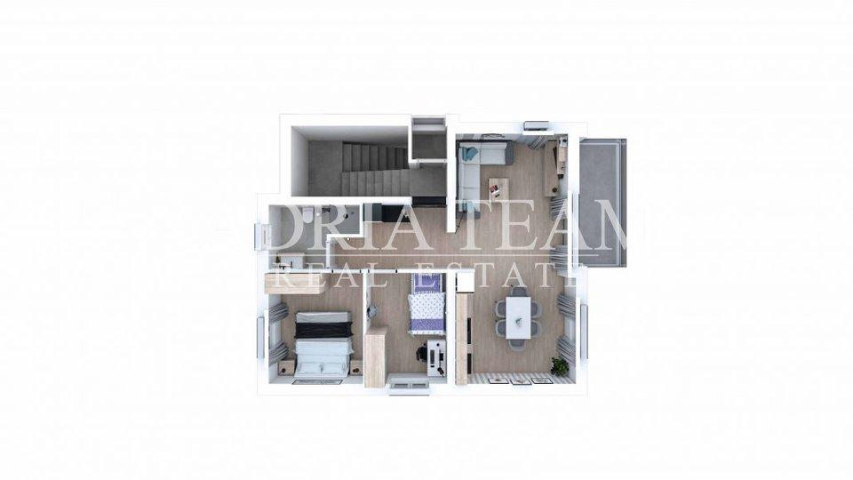 Ferienwohnung, 64 m2, Verkauf, Sukošan