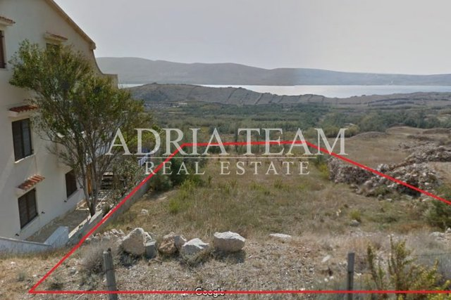 Land, 602 m2, For Sale, Pag