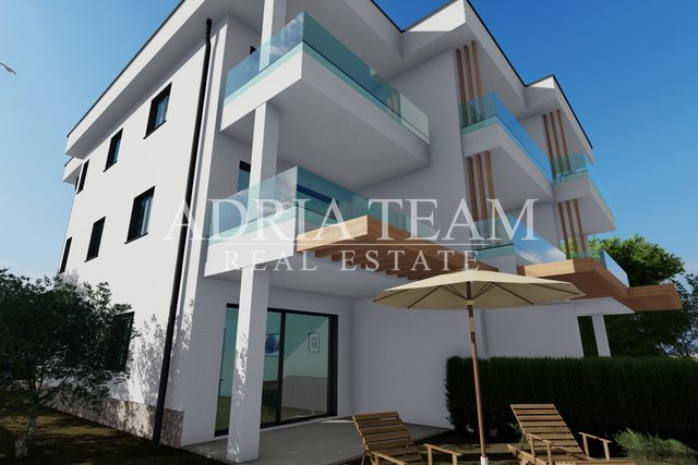 APARTMENTS IN NEW BUILDING, 50 M FROM THE SEA! EXCELLENT POSITION, POVLJANA - PAG