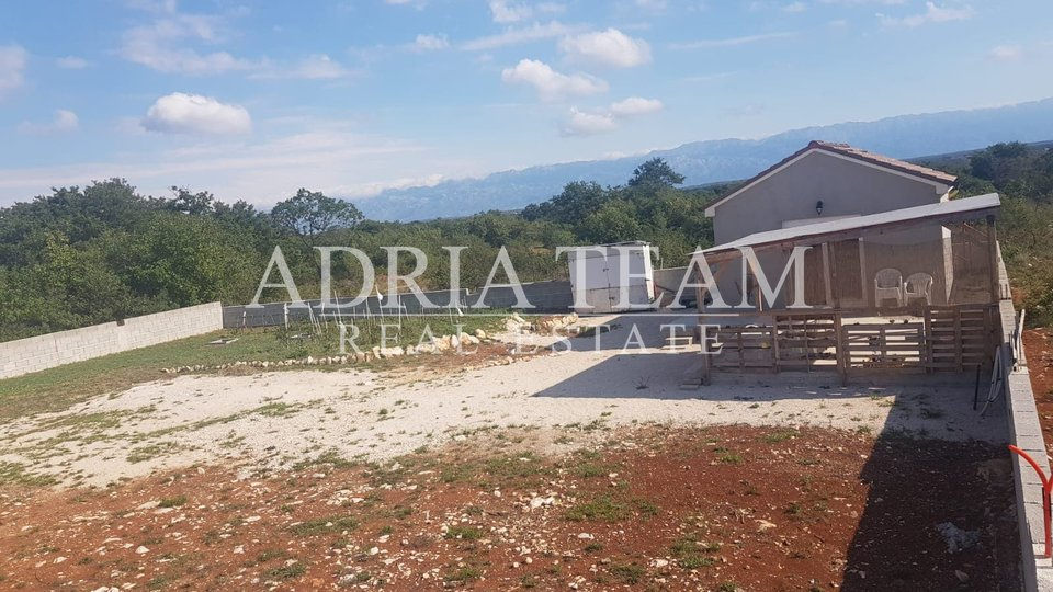 BUILDING LAND WITH AUXILIARY BUILDING AND HOUSE PROJECT, ZADAR - ŽERAVA