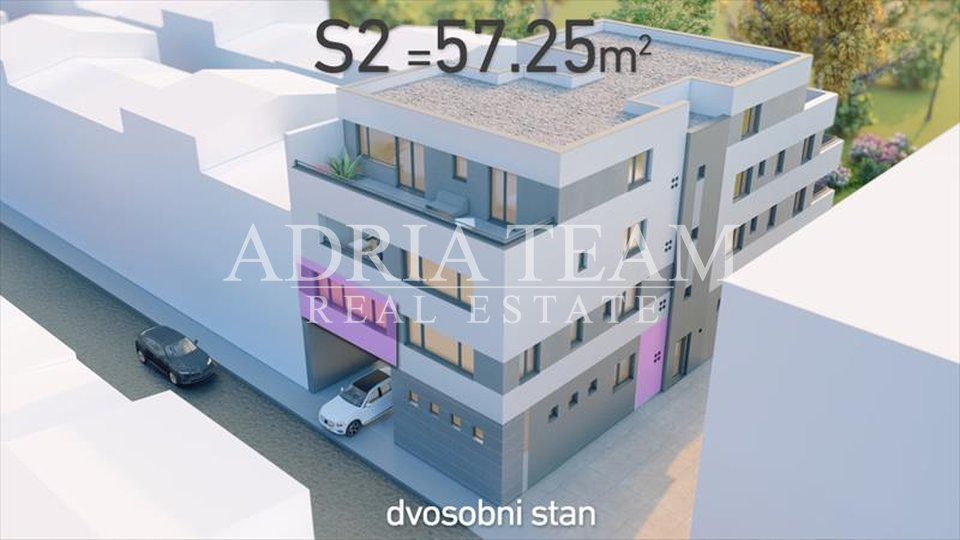 TWO BEDROOM APARTMENTS ON AN EXCELLENT POSITION, ZAGREB - TRNJE