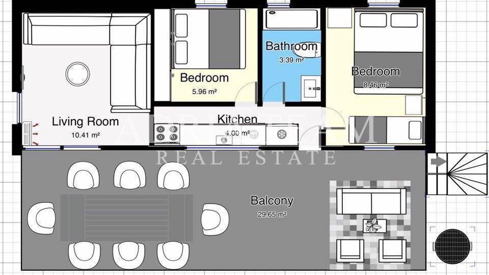 Haus, 33 m2, Verkauf, Pakoštane - Drage