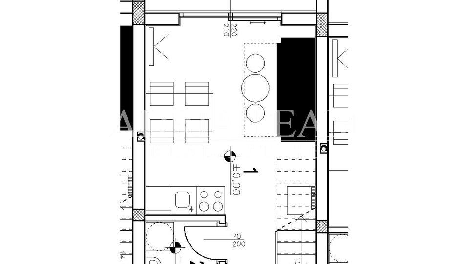 Ferienwohnung, 64 m2, Verkauf, Povljana