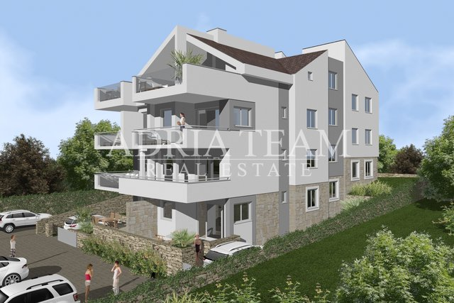 TWO BEDROOM APARTMENTS, NEW BUILDING, 40 M FROM THE BEACH! TOP POSITION! PAG - MANDRE