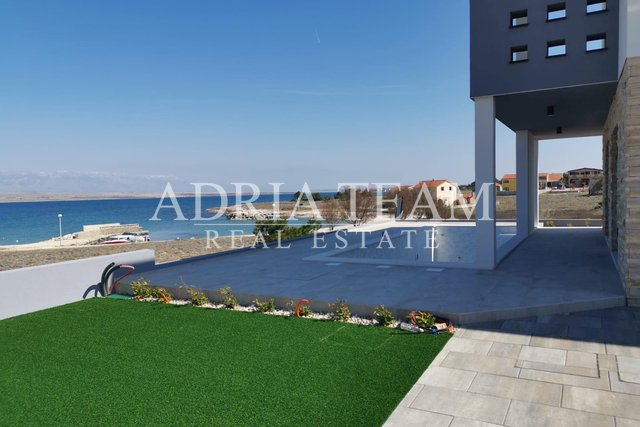 VILLA WITH POOL, PANORAMIC SEAVIEW! FIRST ROW TO THE SEA, VIR - ZADAR