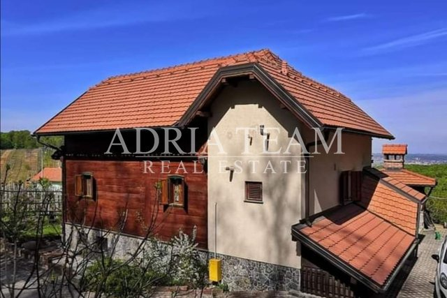 ATRACTIVE HOUSE IN BEAUTIFUL NATURE, NEAR SAMOBOR