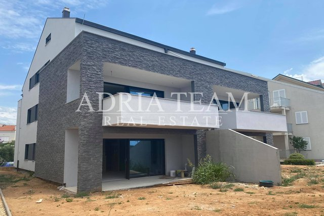 APARTMENTS IN NEW BUILDING, 1ST ROW TO THE SEA, POVLJANA - PAG