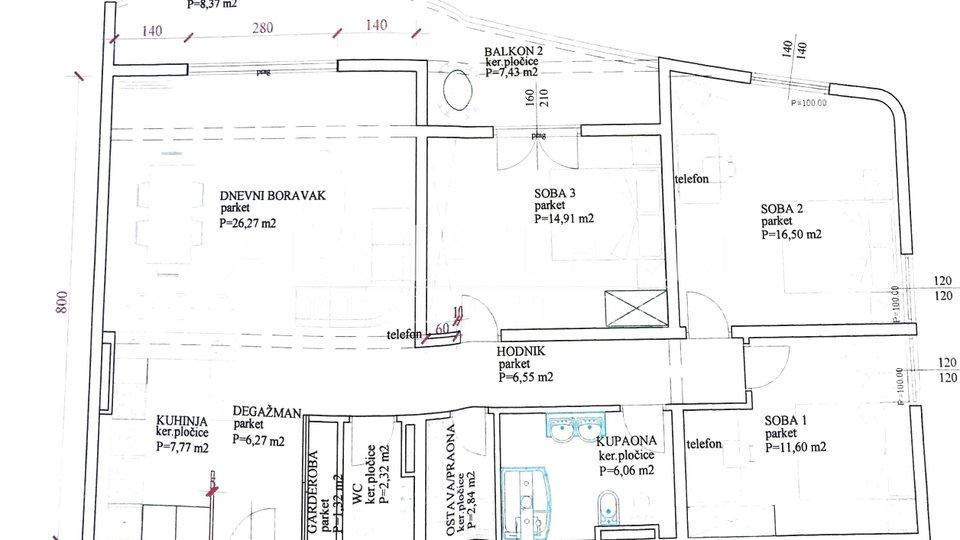 Apartment, 114 m2, For Sale, Zadar - Puntamika