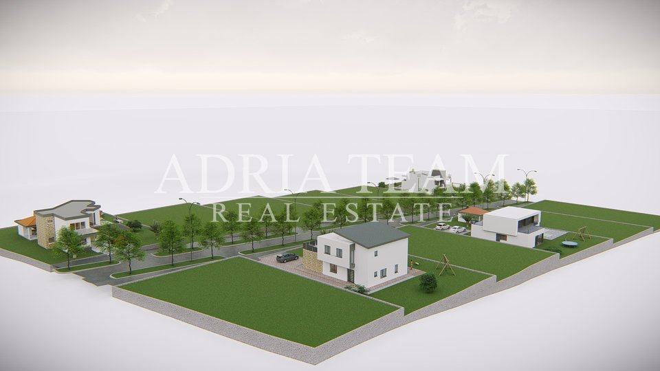 BUILDING LAND 200 M FROM THE SEA, INVESTMENT OPPORTUNITY, POVLJANA